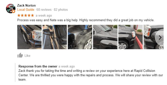 Rapid Collision Center | Mesa Collision Repair | Mesa Auto Body Shop ...